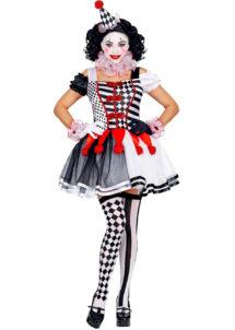 déguisement de pierrot femme, costume pierrot femme, déguisement femme, costume pierrot sexy femme, déguisement pierrot adulte, déguisement pierrot sexy, déguisement top gun femme, déguisement cirque adulte, costume pierrot sexy, Déguisement Pierrot Arlequin Sexy