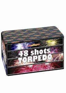 feu d'artifice pour particulier, achat feux d'artifice, feux d'artifices pour jardin, feu d'artifice automatique, Feux d'Artifices Compacts, 48 Coups, Torpedo