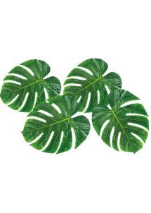 feuilles de palmier, feuilles de bananier, décorations hawaïennes, décorations tropicales, Feuilles de Palmier Décoratives x 4