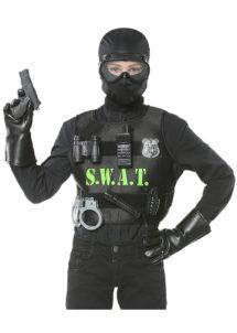 déguisement swap enfant, gilet pare balle enfant, costume policier garçon, déguisement policier garçon, Déguisement de Policier Swat, Garçon, Gilet + Accessoires
