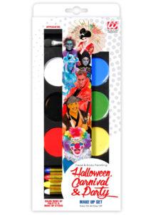 palette de maquillage enfants, palette de maquillage déguisements, Palette de Maquillage, avec Crayons