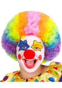 perruque de clown enfant, perruques pour enfants, Perruque de Clown, Fille et Garçon