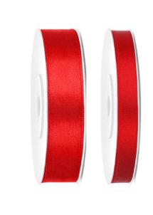 ruban satin, ruban rouge, ruban décoration, ruban ballons, Ruban en Satin, 6 mm ou 12 mm, Rouge