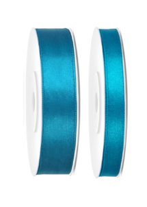 ruban satin, ruban bleu, ruban décoration, ruban ballons, Ruban en Satin, 6 mm ou 12 mm, Bleu Turquoise