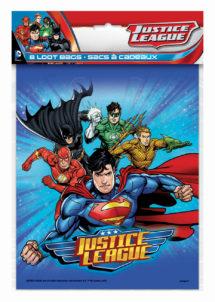 sachets cadeaux justice league, sachets cadeaux super héros, sachets cadeaux anniversaire garçons, Sachets Cadeaux Justice League