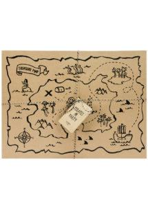 sets de table pirates, carte aux trésors pirates, décorations thème pirates, Sets de Table Carte Aux Trésors, Pirates Party