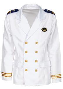 déguisement de capitaine marine, déguisement marin homme, costume de marin homme, déguisement capitaine de la marine, costume capitaine marine, déguisement marin navy, accessoire marin déguisement, Déguisement de Marin, Veste de Capitaine Luxe