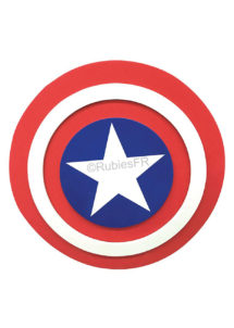 bouclier captain America, accessoire super héros, Bouclier Captain America, en Mousse Rigide