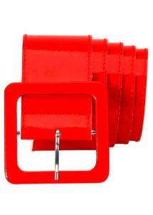 ceinture rouge, ceinture déguisement, Ceinture Brillante, Rouge