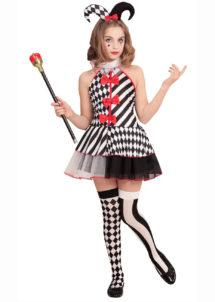 déguisement arlequin fille, costume d'arlequin fille, déguisement de pierrot fille, déguisement pierrot enfant, Déguisement Arlequin Pierrot, Fille