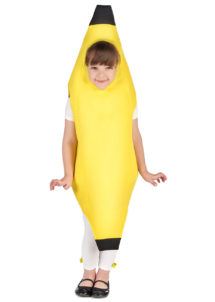 déguisement de banane enfant, costume de banane enfant, déguisement fruit enfant, Déguisement de Banane, Fille
