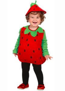 déguisement fraise bébé, déguisement fruits enfants, costume de fraise, Déguisement de Bébé Fraise, Fille et Garçon
