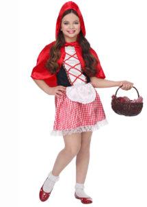 déguisement chaperon rouge enfant, déguisement chaperon rouge fille, costume chaperon rouge enfant, Déguisement Chaperon Rouge Capeline, Fille