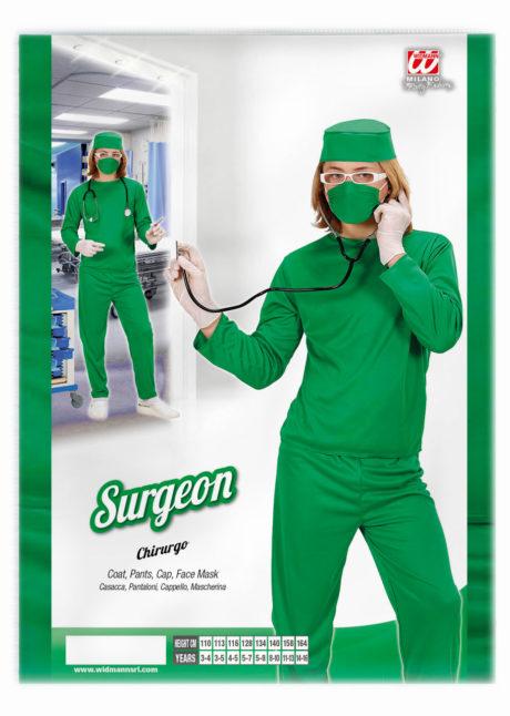 déguisement chirurgien garçon, déguisement médecin enfant, costume de chirurgien, Déguisement de Chirurgien Bloc, Garçon