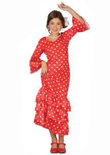 déguisement espagnole fille, costume d'espagnole fille, déguisement danseuse espagnole fille, déguisement flamenco fille, Déguisement d'Espagnole Flamenco, Fille