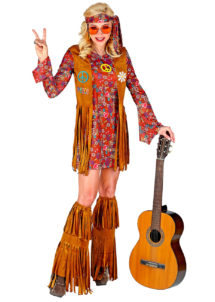 DEGUISEMENT-HIPPIE-femme, déguisement de hippie pour femme, costume hippie femme, Déguisement Hippie + Jambières