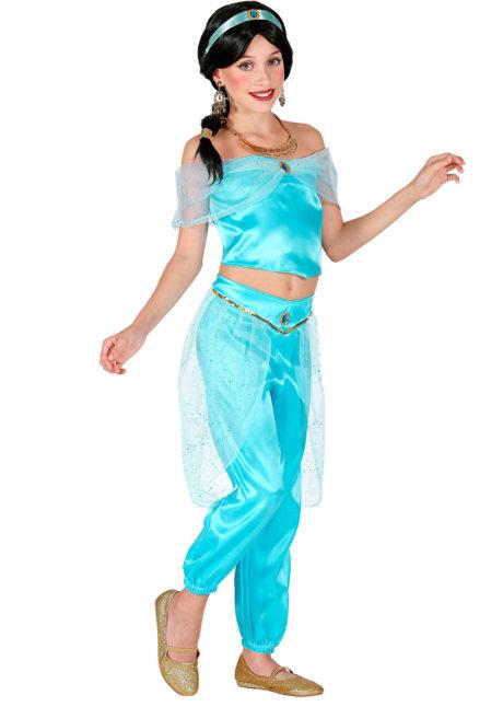 déguisement oriental fille, déguisement Jasmine fille, costume danseuse orientale fille, Déguisement de Danseuse Orientale, Jasmine, Fille