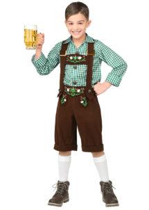 déguisement bavarois enfant, costume de bavarois, déguisement tyrolien enfant, Déguisement de Bavarois Oktoberfest, Garçon