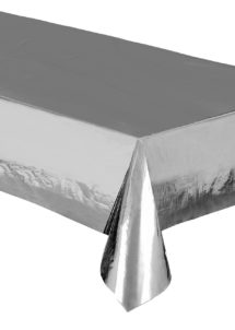nappe jetable, nappe argent, nappe métallisée, Vaisselle Argent Métal, Nappe