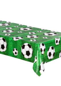 nappe foot, nappe football, coupe du monde, décoration coupe du monde, décoration euro, Vaisselle Ballon de Foot, Nappe en Plastique