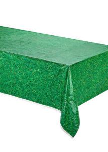 nappe pelouse, nappe motif pelouse, décorations de table, nappe football, Nappe Motif Pelouse, en Plastique