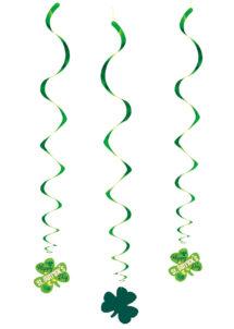 décorations saint Patrick, suspensions saint patrick, suspensions trèfles, Décorations Saint Patrick, Suspensions Trèfles 60 cm
