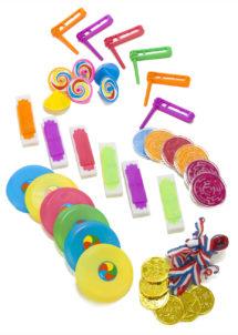 jouets à pinata, cadeau à pinatas, jouets pour pinatas, 36 Petits Cadeaux à Pinata