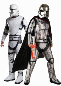déguisement couple, déguisements Star Wars, déguisements duo, costumes Star Wars, Déguisements Couple, Captain Phasma et Flame Trooper