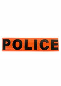 brassard de police, faux brassard de police, accessoires policiers, soirée à thème police, Brassard de Police