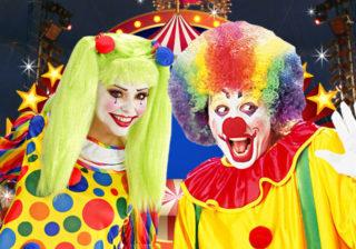 Soirée déguisement déco Clowns