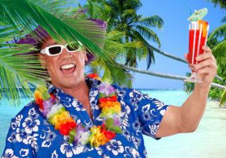 Soirée déguisement déco Hawaï et Tropical