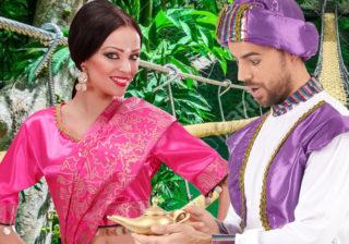 Soirée déguisement déco Inde et Asie