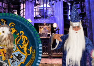 Soirée déguisement déco Magiciens et Sorcellerie