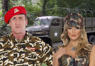 Soirée déguisement déco Militaires