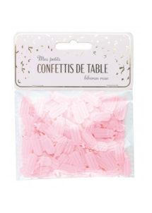 confettis de table, baby shower fille, décorations baby showers filles, Confettis de Table Baby Shower Fille, Biberons