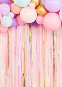 arche de ballons, kit décorations ballons, décorations ballons, ballons baudruche, ballons hélium, décorations roses, ginger ray, 1 Kit Décor de Ballons Pastel avec Rubans, Kit Complet