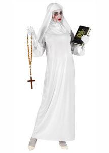 déguisement bonne soeur fantôme, déguisement nonne gothique, déguisement religieuse, déguisement halloween femme, costumes halloween femme, déguisement nonne de la mort, Déguisement de Bonne Soeur, Nonne Fantomatique