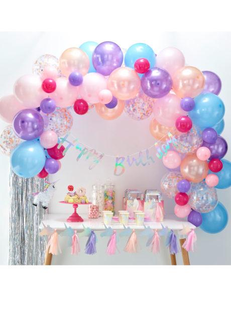 kit arche de ballons, arches pour ballons, arches de ballons, ballons décorations, ginger ray, Arche de Ballons Pastel Colors, Kit Complet