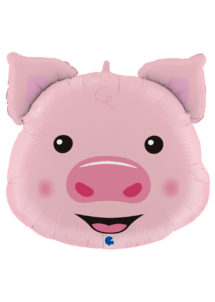 ballon cochon, ballons animaux, ballons hélium, Ballon Cochon Piggy, en Aluminium