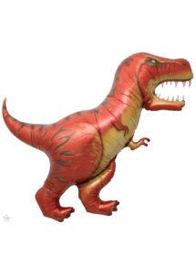ballon dinosaure, ballons animaux, ballons hélium, Ballon Dinosaure T-Rex, en Aluminium