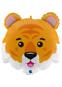 ballon tigre, ballons hélium, ballons animaux, Ballon Tigre, en Aluminium