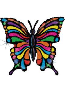 ballon papillon, ballons animaux, ballon hélium, Ballon Papillon Pop Art, en Aluminium