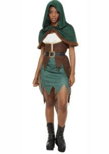 déguisement robin des bois femme, déguisement médiéval femme, costume robin des bois femme, costume médiéval femme, Déguisement de Robin, Chasseuse Médiévale
