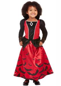 déguisement diable fille, déguisement vampire fille, déguisement halloween enfant, Déguisement de Diablesse Vampire, Fille