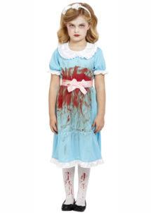 déguisement jumelle shining fille, déguisement halloween fille, costume halloween fille, Déguisement de Shining, Jumelle Sanglante, Fille
