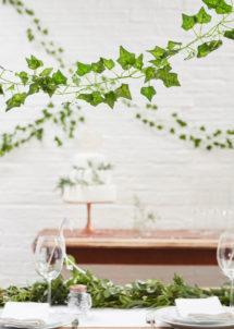 décoration lierre, feuillage, décorations florales, ginger ray, Lierre Artificiel de Décoration, 5 x 2m