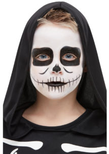 kit maquillage enfant, maquillage squelette enfant, peinture visage enfant, Kit de Maquillage Squelette, Enfant
