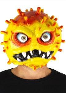 masque virus, masque coronavirus, masque covid19, Didier raoult, virus halloween, Masque Covid 19, Coronavirus Jaune