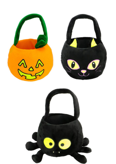 sacs à bonbons, panier à bonbons, Panier à Bonbons Halloween