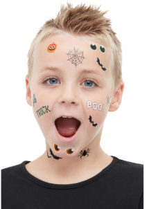 tatouages halloween enfant, Tatouages Halloween Enfants
